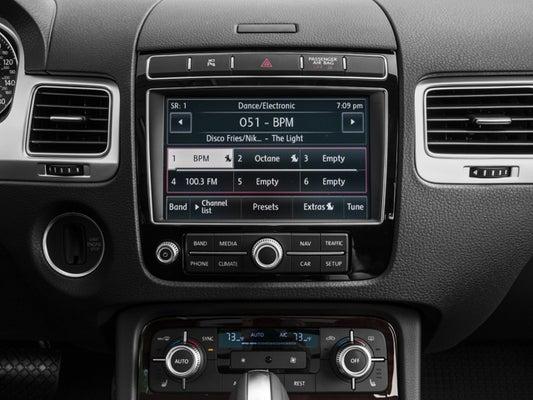 2017 Volkswagen Touareg V6 Sport With Technology >> 2017 Volkswagen Touareg V6 Sport 4motion